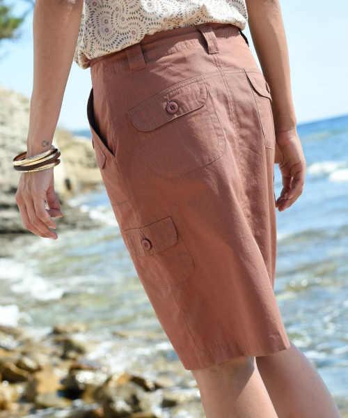 moderní sukně s kapsami