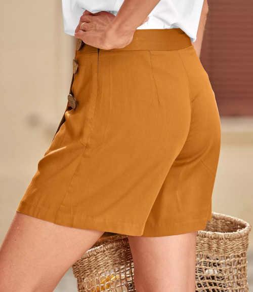 sukňové šortky v módním provedení