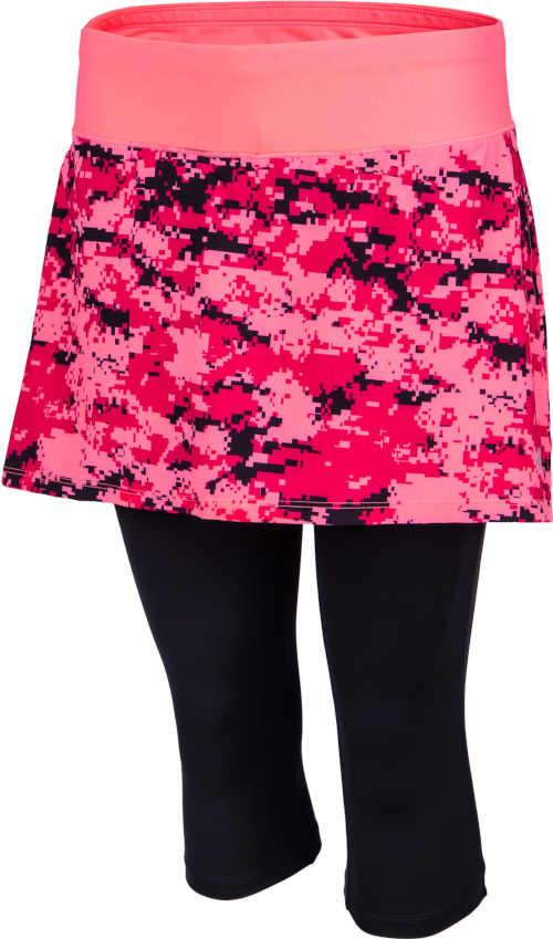 Dámská sportovní sukně s legínami v barevném provedení