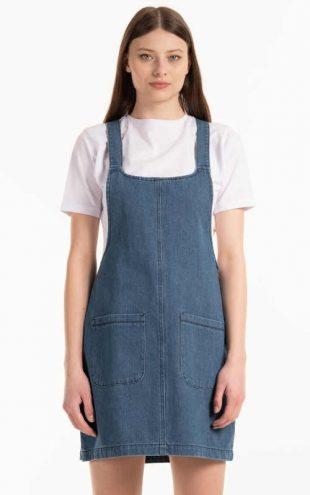 Stylová laclová sukně z kvalitního a nemačkavého denimu