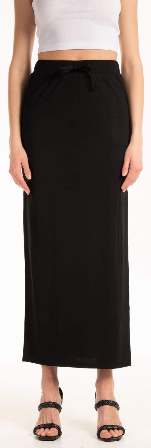 Dlouhá černá sukně Gate levně