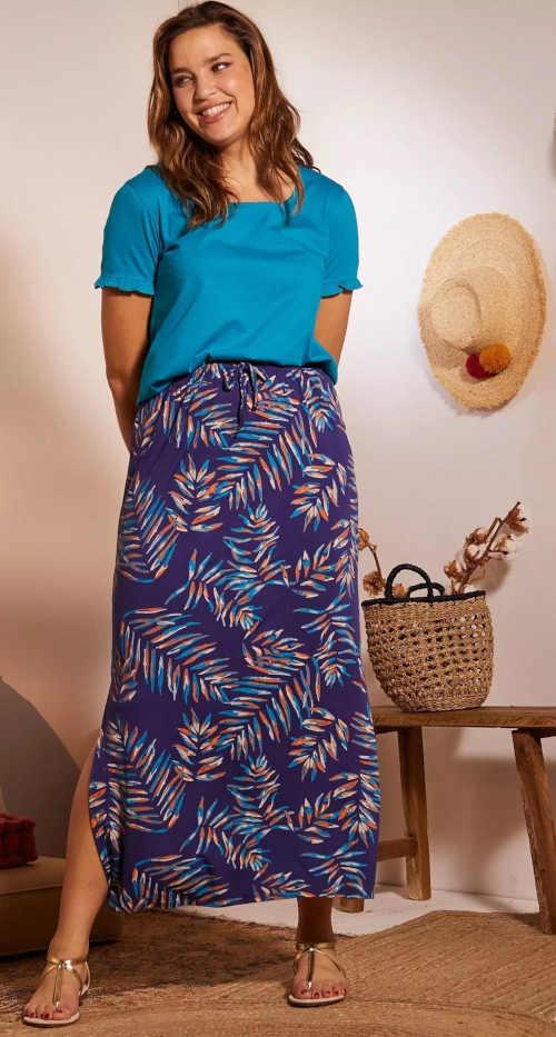 dlouhá vzorovaná sukně Blancheporte