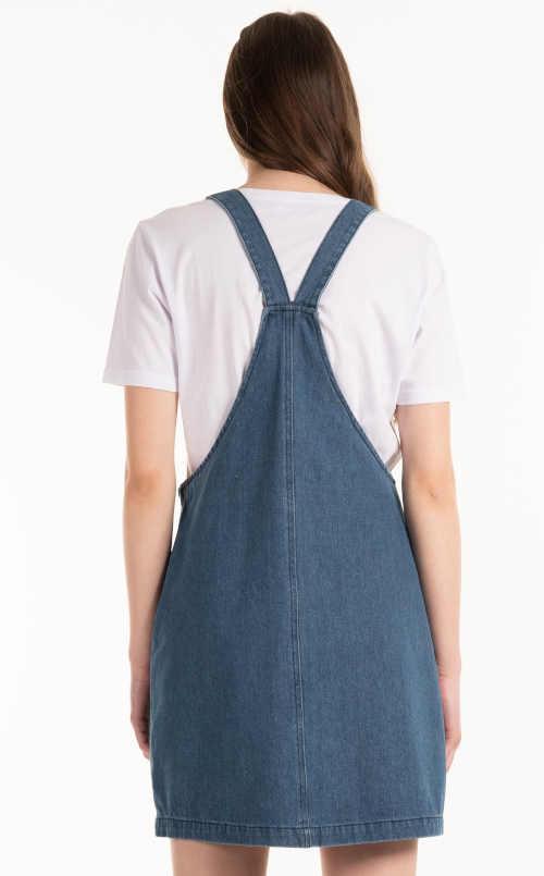 laclová sukně s kapsami