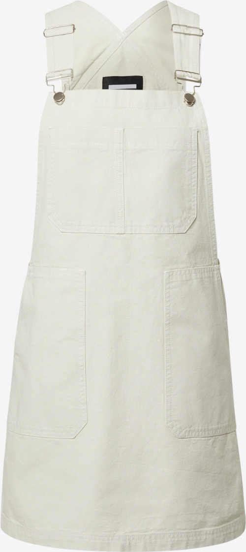 laclová sukně v krátké délce bílá