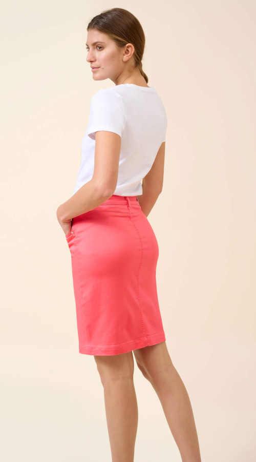 přiléhavá sukně na zip