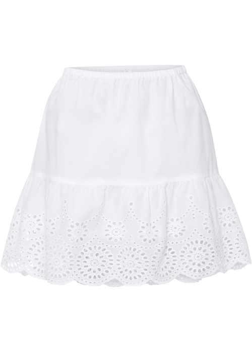 sukně zdobená výšivkou