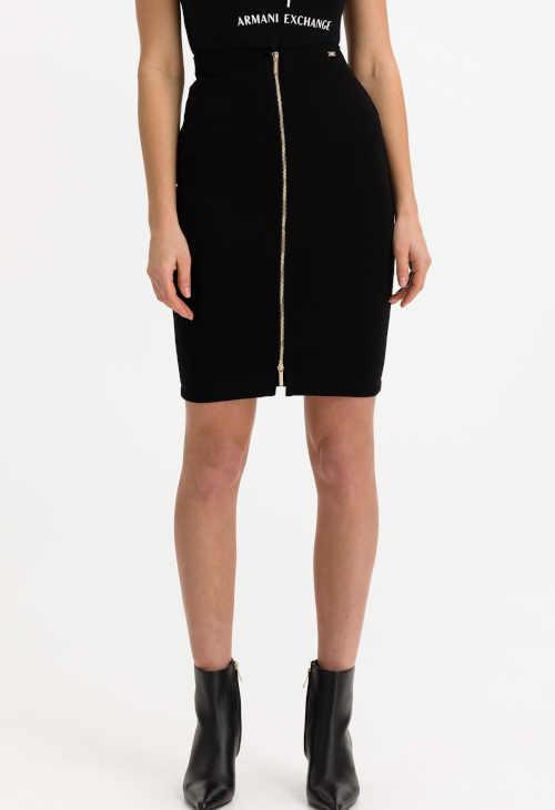 Černá dámská sukně Armani Exchange v přiléhavém střihu