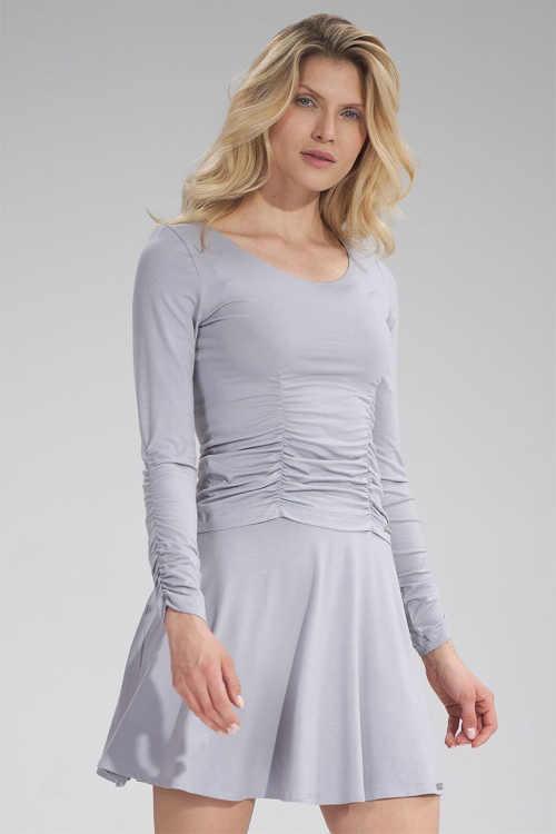 Krátká sukně sportovního střihu do pružného pasu