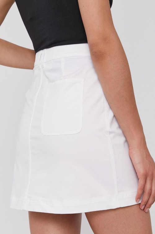džínová bílá sukně CK