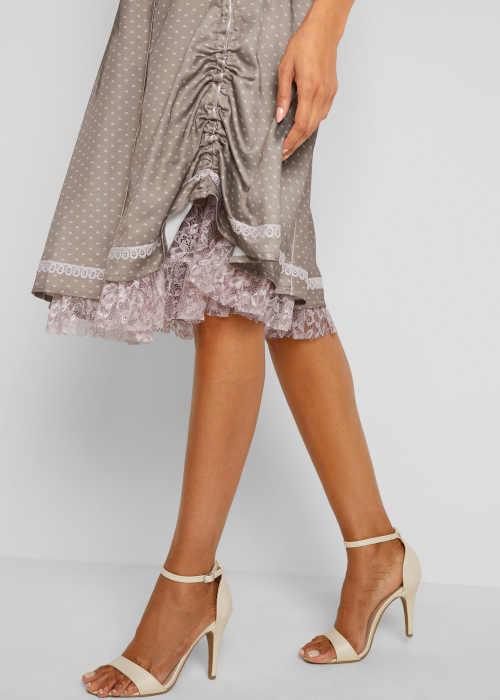 moderní sukně s potiskem