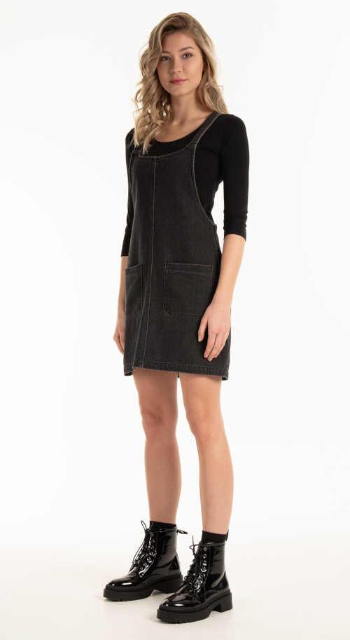 riflová sukně na šle